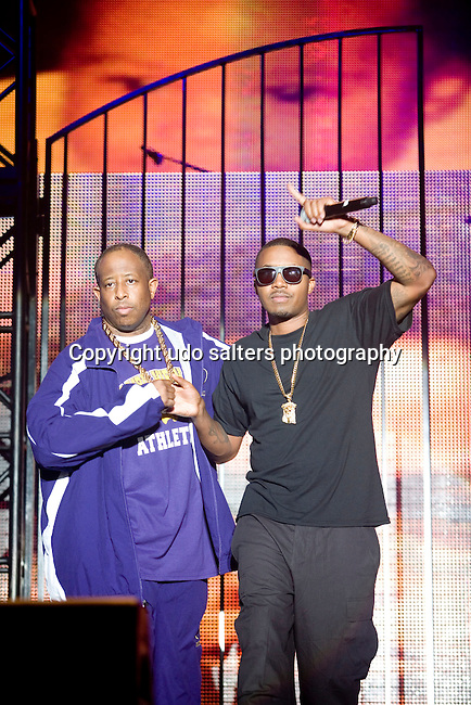 DJ Premier and Nas at the 8th Annual Rock The Bells Held on Governors Island, NY 9/3/11