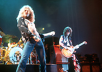 Led Zeppelin in 1975. Credit: Ian Dickson/MediaPunch