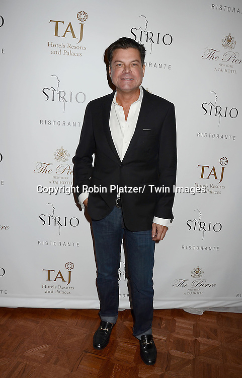 Douglas Hannett attends the Sirio Ristorante New York opening in the Pierre Hotel, a TAJ Hotel on October 24, 2012 in New York City. Sirio Maccioni hosted the party