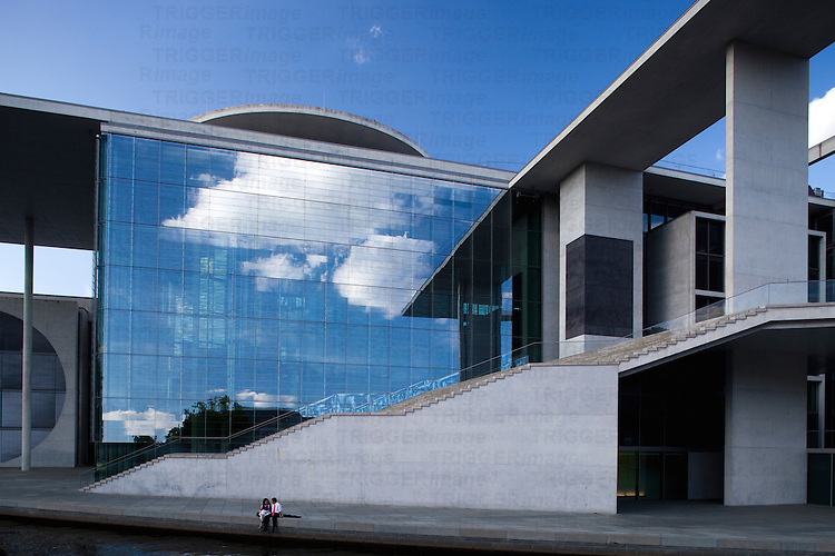 Marie-Elisabeth-Lüders-Haus building, belonging to the Bundestag, Berlin, Germany