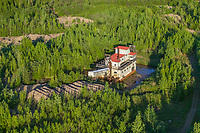 Historical Coal Creek Mine, Yukon Charley Rivers National Preserve, managed by the National Park Service, located along Coal Creek on the Yukon River.