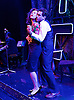 The Stripper<br /> based on a novel by Carter Brown <br /> music &amp; lyrics by Richard Hartley &amp; Richard O'Brien <br /> at St. James' Theatre, London, Great Britain <br /> 8th July 2016 <br /> <br /> <br /> <br /> Sebastian Torkia as Al Wheeler <br /> <br /> Hannah Grover as Sherry Mendez<br /> <br /> <br /> Photograph by Elliott Franks <br /> Image licensed to Elliott Franks Photography Services