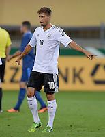 FUSSBALL INTERNATIONAL Laenderspiel Freundschaftsspiel U 21   Deutschland - Frankreich     13.08.2013 Moritz Leitner (Deutschland)