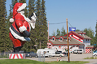 Santa Claus House, North Pole, Alaska.