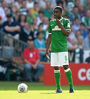 FUSSBALL   1. BUNDESLIGA   SAISON 2013/2014   2. SPIELTAG SV Werder Bremen - FC Augsburg       11.08.2013 Cedrick Makiadi (SV Werder Bremen)