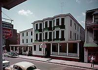 Lyric Hotel - Exterior and street - 1960