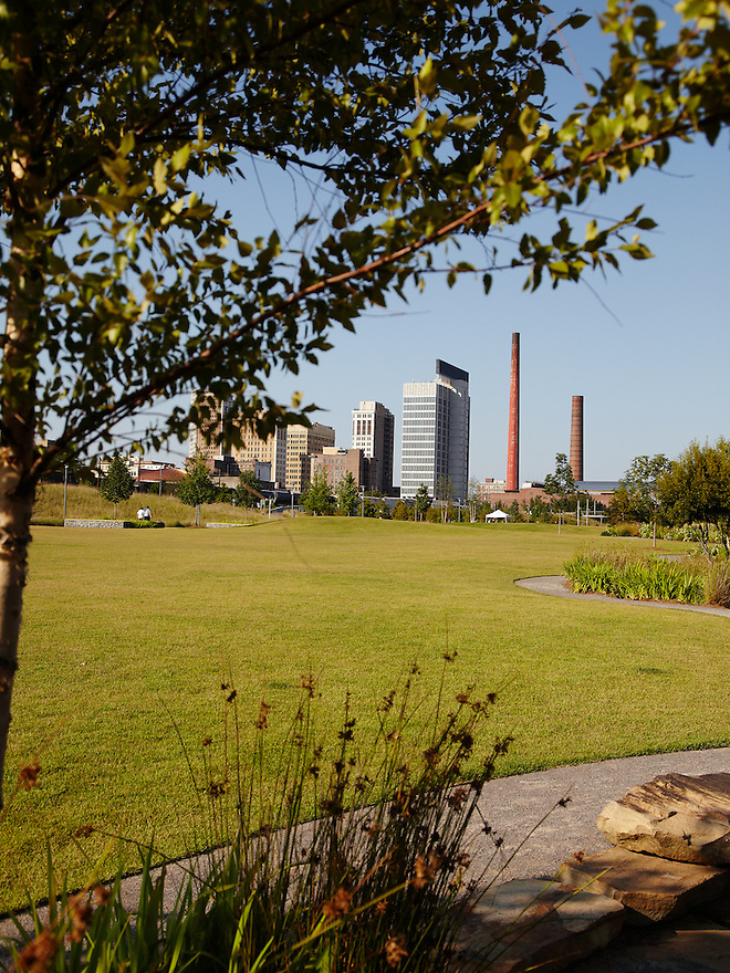 Railroad Park.  Birmingham, Alabama.