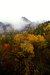 TN: Tennessee Great Smoky Mountains National Park, Mtns, Cades Cove, Fall color          .Photo Copyright: Lee Foster, lee@fostertravel.com, www.fostertravel.com, (510) 549-2202.Image: tnsmok219