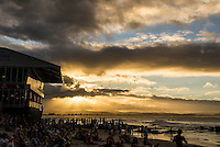 Snapper Rocks, COOLANGATTA, Queensland/AUS (Tuesday, March 15, 2016) - The Quiksilver and Roxy Pro Gold Coast, the opening stop on the 2016  WSL Championship Tour recommenced at 7:35am this morning with men&rsquo;s and women&rsquo;s Round 4 and the women&rsquo;s Quarterfinals called on in clean three-to-five foot (1 - 1.5 metre) waves at Snapper Rocks.<br /> <br /> There was a break during the high tide with only two heats of the men's Round five not completed.<br /> <br />  .Photo: joliphotos.com