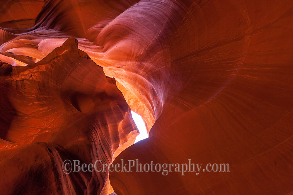 The wonderful colors of the Antelope Canyon<br /> landscape. This another capture of the desert southwest fine art images of Arizona.