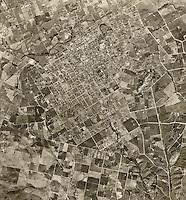 historical aerial photograph Escondido, San Diego County, California, 1947
