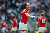 George North of Wales. Old Mutual Wealth Cup International match between England and Wales on May 29, 2016 at Twickenham Stadium in London, England. Photo by: Patrick Khachfe / Onside Images