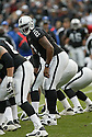 JAMARCUS RUSSELL, of the Oakland Raiders  in action during the Raiders game against the  Denver Broncos on December 2, 2007 in Oakland, California...RAIDERS  win 34-20..SportPics