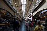 Inside the Ferry Building in San Francisco, California. (Photo by Brian Garfinkel)