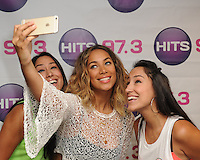 Leona Lewis Visits Hits 97.3 FL