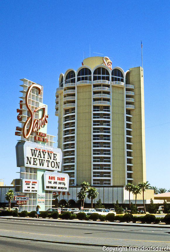 Las Vegas: The Sands Hotel. Photo '79.