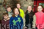 Ballydonoghue Community Games Awards Night: Pictured at the Ballydonoghue Community games awards held at he Thatch Bar on Sunday evening last were Paul O'Mahony, Adam O'Mahony, Ellen Gilbert, Sean O'Mahony, Louise O'Leary & Sarah Hayes.