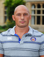 Matt Pickard poses for a portrait at a Bath Rugby photocall. Bath Rugby Media Day on August 24, 2016 at Farleigh House in Bath, England. Photo by: Patrick Khachfe / Onside Images