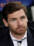 Calcio, Europa League Gruppo J: Lazio vs Tottenham Hotspur. Roma, stadio Olimpico, 22 novembre 2012..Tottenham Hotspur coach Andre Villas-Boas, of Portugal, sits on the bench during the Europa League Group J football match between Lazio and Tottenham Hotspur at Rome's Olympic stadium, 22 November 2012..UPDATE IMAGES PRESS/Riccardo De Luca