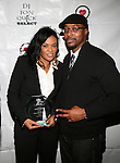 DJ Beverly Bond and Chester Felts Attend The 4th Annual Beauty and the Beat: Heroines of Excellence Awards Honoring Outstanding Women of Color on the Rise Hosted by Wilhelmina and Brand Jordan Model Maria Clifton Held at the Empire Room, NY 3/22/13