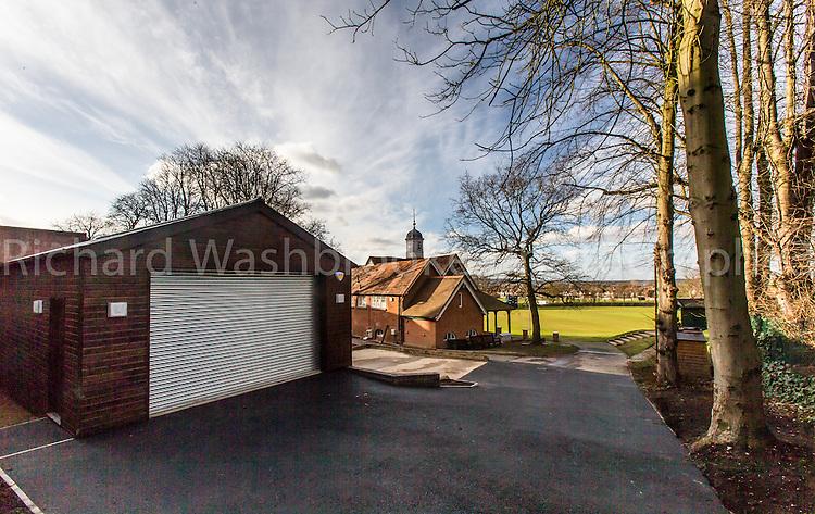 T&B (Contractors) Ltd Cricket Store, John Lyon School, Middle Road, Harrow-on-the-Hill, HA2 0HN.  27th February 2015