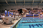 24 MAR 2012:  Bradley Deborde of the University of Florida competes in the 100 yard freestyle B-Final race during the Division I Men's Swimming and Diving Championship held at the Weyerhaeuser King County Aquatic Center in Seattle, WA. Rod Mar/ NCAA Photos