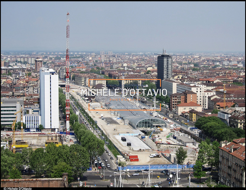 Porta susa michele d 39 ottavio torino photo library - Stazione treni torino porta susa ...
