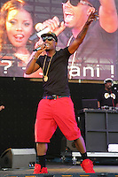 05/12/12 Carson, CA : B.o.B. performs during KISS FM's Wango Tango concert held at the Home Depot Center