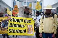 2013/01/16 Berlin | Bienenzüchter-Protest campact