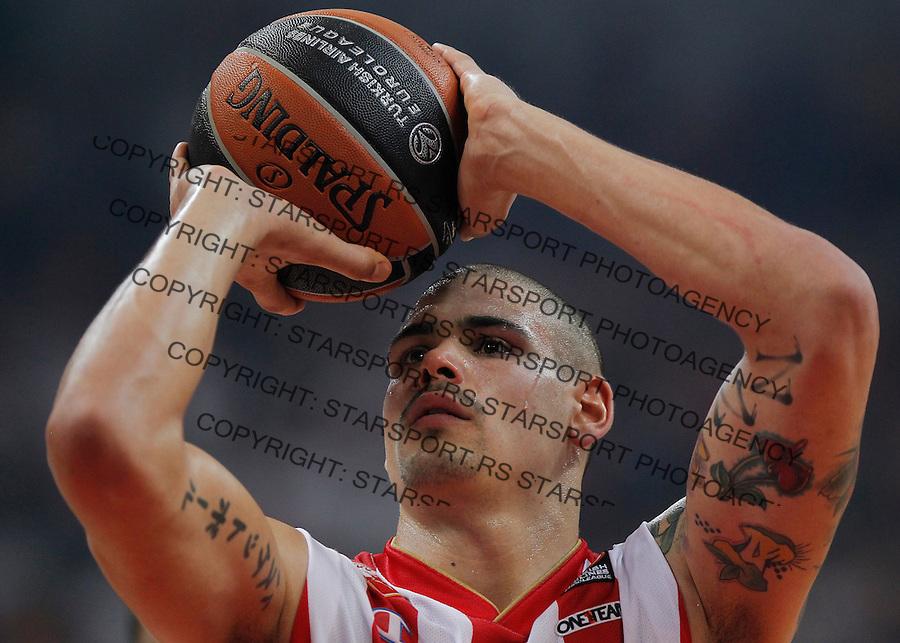 Kosarka Euroleague season 2015-2016<br /> Euroleague <br /> Crvena Zvezda v Fenebahce Istanbul<br /> Maik Zirbes<br /> Beograd, 06.11.2015.<br /> foto: Srdjan Stevanovic/Starsportphoto &copy;
