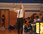 Oxford High coach Drew Tyler vs. West Point in MHSAA Class 5A-Division 2 playoff action in Oxford, Miss. on Friday, February 10, 2012. West Point won 69-64.