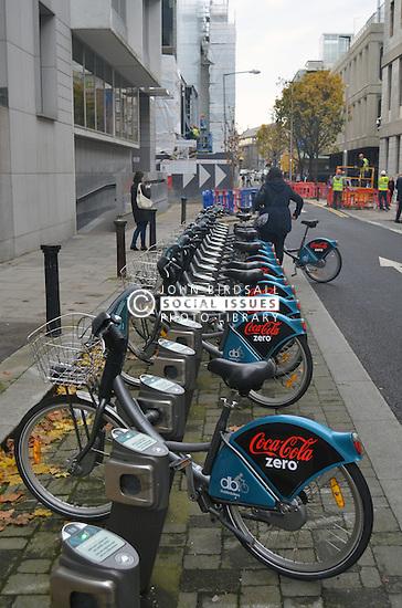 Bike hire scheme Dublin Ireland