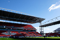 Toronto, ON, Canada - Friday Dec. 09, 2016: BMO Field, Toronto FC during training prior to MLS Cup at BMO Field.