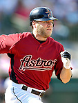 16 March 2007: Houston Astros infielder Eric Bruntlett in action against the New York Yankees at Osceola County Stadium in Kissimmee, Florida...Mandatory Photo Credit: Ed Wolfstein Photo