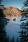 Phantom Ship from Phantom Ship Overlook at Crater Lake NP