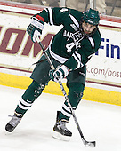 Geoff Ferguson (Dartmouth - 4) - The Boston College Eagles defeated the visiting Dartmouth College Big Green 6-3 (EN) on Saturday, November 24, 2012, at Kelley Rink in Conte Forum in Chestnut Hill, Massachusetts.