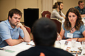 "Participants in discussion at the ""A Seat at the Table: The Youth Voice in Rural Community Visioning"" breakout session on the second day of the National Rural Assembly in St. Paul, MN."
