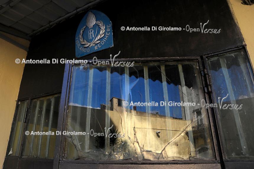 Carcere di Paliano, dove sono reclusi i collaboratori di giustizia.
