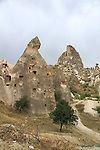 Images of Turkey. CAVE HOUSES. CAPPADOCIA