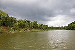 Brazos River, Brazoria County, Texas.