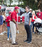 Stanford, CA - April15, 2017:  Tailgate Party  at Cagan Stadium.