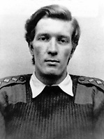 Captain John H Young, Royal Army Ordance Corps, 22 years, from Basingstoke, England, who died 15th July 1972 whilst attempting to defuse a Provisional IRA milk churn bomb in South Armagh. He was the first bomb disposal officer to die in that area where the IRA were particularly active. 197300000731<br /> <br /> Copyright Image from Victor Patterson, 54 Dorchester Park, <br /> Belfast, UK, BT9 6RJ<br /> <br /> t1: +44 28 9066 1296 (from Rep of Ireland 048 9066 1296)<br /> t2: +44 28 9002 2446 (from Rep of Ireland 048 9002 2446)<br /> m: +44 7802 353836<br /> <br /> e1: victorpatterson@me.com<br /> e2: victorpatterson@gmail.com<br /> <br /> www.victorpatterson.com<br /> <br /> Please see my Terms and Conditions of Use at www.victorpatterson.com. It is IMPORTANT that you familiarise yourself with them.<br /> <br /> Images used on the Internet must be visibly watermarked i.e. &copy; Victor Patterson within the body of the image and copyright metadata must not be deleted. Images used on the Internet have a size restriction of 4kbs and will be chargeable at current NUJ rates unless agreed otherwise.<br /> <br /> This image is only available for the use of the download recipient i.e. television station, newspaper, magazine, book publisher, etc, and must not be passed on to any third party. It is also downloaded on condition that each and every usage is notified within 7 days to victorpatterson@me.com<br /> <br /> The right of Victor Patterson to be identified as the author is asserted in accordance with The Copyright Designs And Patents Act (1988).