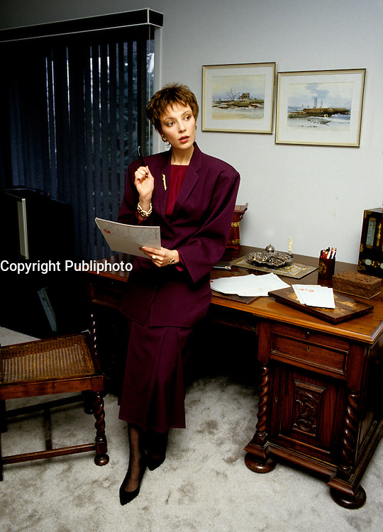 EXCLUSIVE PHOTO  - Anne Letourneau<br /> <br />  circa 1987.