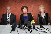 Nat Fraser: family press conference