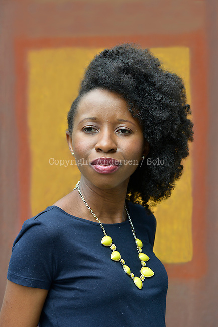 Imbolo Mbue, American writer (Cameroonian born) on July 5, 2016.