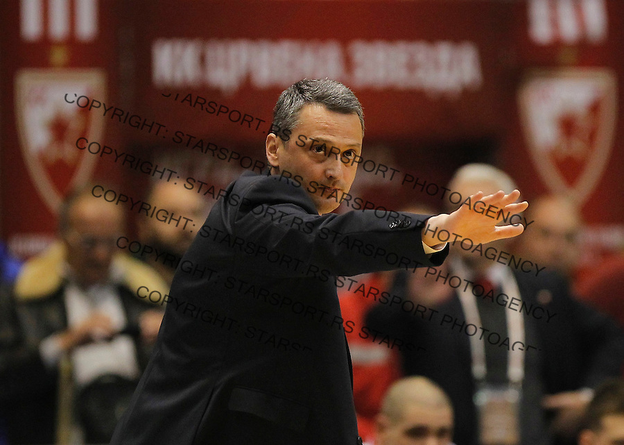 Kosarka Euroleague season 2015-2016<br /> Euroleague <br /> Crvena Zvezda v Real Madrid<br /> head coach Dejan Radonjic<br /> Beograd, 27.11.2015.<br /> foto: Srdjan Stevanovic/Starsportphoto &copy;