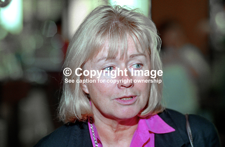 Ann Clwyd, MP, Labour Party, UK, 199509007.<br /> <br /> Copyright Image from Victor Patterson, 54 Dorchester Park, Belfast, UK, BT9 6RJ<br /> <br /> t1: +44 28 9066 1296 (from Rep of Ireland 048 9066 1296)<br /> t2: +44 28 9002 2446 (from Rep of Ireland 048 9002 2446)<br /> m: +44 7802 353836<br /> <br /> e1: victorpatterson@me.com<br /> e2: victorpatterson@gmail.com<br /> <br /> The use of any of my copyright images is subject to my Terms &amp; Conditions.<br /> <br /> It is IMPORTANT that you familiarise yourself with them. They are available on my website, victorpatterson.com.<br /> <br /> None of my copyright images may be used on the Internet unless they are visibly watermarked, i.e. &copy; Victor Patterson within the body of the image. Metadata denoting my copyright must NOT be deleted. <br /> <br /> Web use is extra at currently recommended NUJ rates.