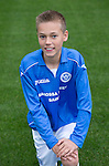 St Johnstone FC Academy U13's<br /> Fraser Corbett<br /> Picture by Graeme Hart.<br /> Copyright Perthshire Picture Agency<br /> Tel: 01738 623350  Mobile: 07990 594431