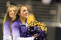 Nov 08, 2014:  Washington cheerleader Kaylie Gray pumped up fans during the game against UCLA.  Washington defeated UCLA at Husky Stadium in Seattle, WA.