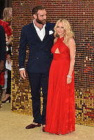 Kylie Minogue and Joshua Sasse at 'Absolutely Fabulous: The Movie' world film premiere, Odeon cinema, Leicester Square, London, England June 19, 2016.<br /> CAP/PL<br /> &copy;Phil Loftus/Capital Pictures /MediaPunch ***NORTH AND SOUTH AMERICAS ONLY***